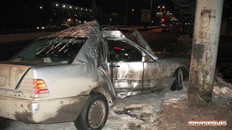 авария на московском проспекте мерседес