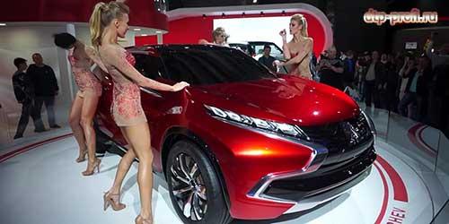 Новинка на электрической тяге Mitsubishi XR-PHEV2