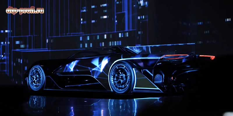 Фото электрокара Faraday Future