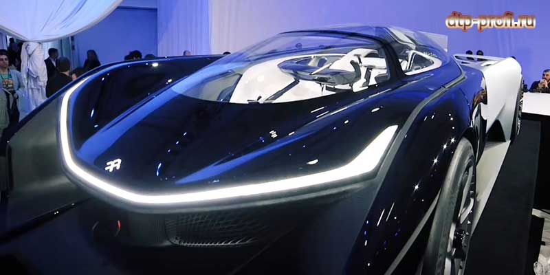 Фото электрокара Faraday Future FFZero 1